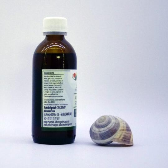 Sciroppo con bava di lumaca contro l'acidità di stomaco